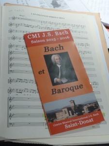 Toute l'année, Jean-SébastienBach est à l'honneur à St Donat-sur-L'Herbasse (© Pierre Nouvelle).
