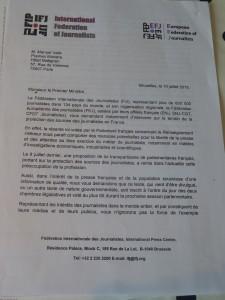 Les journalistes français ont porté la question de la protection des sources au niveau international (© Pierre Nouvelle).