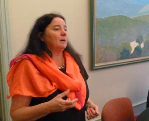 Depuis juin 2013, Marie-Chapdelaine n'a pas compté ses efforts pour faire aboutir le projet de loi Taubira sur la protection des sources (© Pierre Nouvelle).