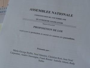 Avec cette proposition de loi, la voix de l'Intersyndicale journalistes a été entendue par des députés de droite comme de gauche (© Pierre Nouvelle).