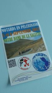 Motard-e-s et no motards réunis au cœur des Alpes dans un lieu de spiritualité (© Pierre Nouvelle)