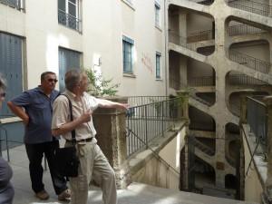 Sur les traces des Canuts, dans le Vieux-Lyon, comme sur les pentes de la Croix-Rousse, les Journées du patroimne ensoleillées ont connu une réelle affluence (© Pierre Nouvelle).