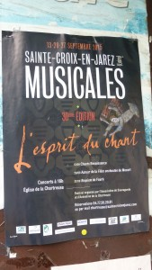 C'est un parcours choral du XVIe au XIXe siècle que propose la 30e édition des Musicales  (© Pierre Nouvelle).