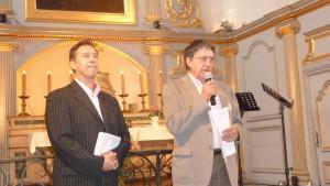 Daniel Borgeot, pionnier des Musicales (à droite) a convaincu François Sauzeau de prendre la direction musicale de ce festival dans la foulée de son collègue Philippe Bernold (© Pierre Nouvelle).