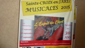 Pour leur 30e anniversaire, les Musicales ont choisi, grâce à François Sauzeau Gabriel Fauré et son Requiem (© Pierre Nouvelle).