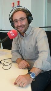 """""""Nous souhaitons faire grimper l'audience de 15 % en deux ans"""", assure Philippe Lansac, le directeur de RCF Lyon RCF Lyon 002 ."""
