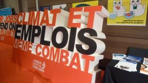 Emplois et climat unis dans une action syndicale cohérente (© Pierre Nouvelle)