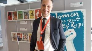 Avec Luca Visentini, 46 ans, comme secrétaire général, la CES va aborder une nouvelle phase de son histoire (© Pierre Nouvelle).