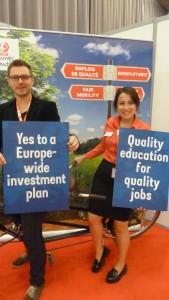 U plan d'investissement et des emplois de qualité sont au coeur des attentes des jeunes (© Pierre Nouvelle)