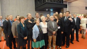 Les secrétaires généraux des confédérations nationales sont repartis avec un manifeste pour guider leur action européenne jusqu'en 2019 (© Pierre Nouvelle).