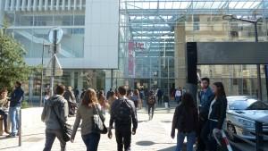 L'Université catholique de Lyon, ce sont 10 000 étudiants dont 2 000 étrangers accueillis dans cinq facultés  (© Pierre Nouvelle).