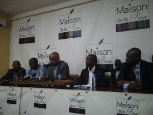 Un nouveau syndicat de journalistes est né : c'&était à Conakry le 4 août 2015 (© DR).