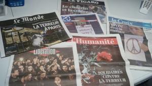 Dix mois après les assassinats de Charlie Hebdo et de l'Hyper-casher, comment faire société après ces attentats monstrueux ? (© Pierre Nouvelle)