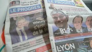 Avec 4 points d'avance sur Jean-Jack Queyranne, son challenger socialiste, Laurent Wauquiez a confirmé son avance du 1er tour et a conquis la nouvelle région Aura (© Pierre Nouvelle).