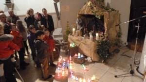 Noël, qui célèbre la naissance d'un enfant fils de Dieu, est avant tout la fête des enfants  (© Pierre Nouvelle) .