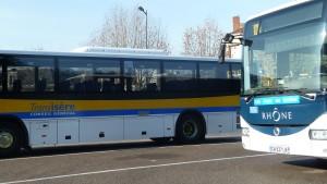 Une cohérence entre les lignes de transports du Rhône, de la Loire et de l'Isère serait un élément poitif pour envisager les déplacements collectifs et le service public des transpots dans le bassin Nord de la Vallée du Rhône (© Pierre Nouvelle).