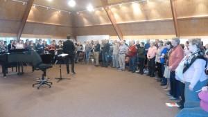 De janvier à avril, des amateurs de chant choral vont pénétrer une ouevre de Charles gounod qui sera présentée pour la première fois à Autun le 10 avril 2016 (© Pierre Nouvelle).
