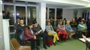Lors de la réunion du 9 décembre à Condrieu, les participants ont attesté de l'importance des lignes de bus des Cars du Rhône (© Pierre Nouvelle).