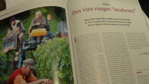 Avec son vin rouge classé en appellation d'origine, le cru Irancy fait figure d'eception au royaume chablisien du chardonney (© Pierre Nouvelle).