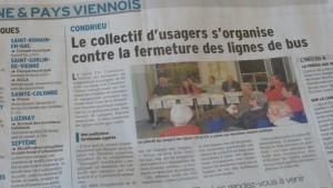 Affaire à suivre aussi dans la presse quotidienne et hebdomadaire régionale (© Pierre Nouvelle).