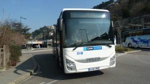Un service sur trois des Cars du Rhône devrait être supprimé le 28 août prochain. Parmi eux, les lignes 231 (Condrieu-Vienne) et 134 (Condrieu-Givors) sont concxernées (© Pierre Nouvelle).