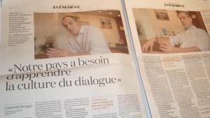 La CFDT, incarnée par son secrétaire général Laurent Berger a joué un rôle décisif dans la relation enre le gouvernement et les organisations syndicales (© Pierre Nouvelle).