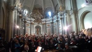 L'église saint-Jean à Autun (Saône-et-Loire) était comble pour un concert consacré au compositeur romantique Gounod (© Pierre Nouvelle).