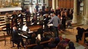 Baptême du feu pour le choeur Prana avec l'interprétation de la Messe aux Chapelles de Charles Gounod (© Pierre Nouvelle).