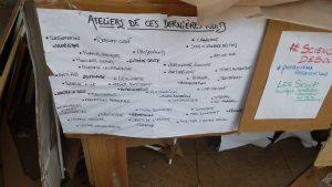Chorale, ateliers, débats... le programme s'annonçait vaste (© Pierre Nouvelle)..