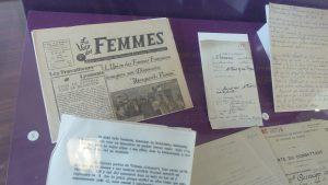 Au fil des deux guerres (1914-18 et 1939-1945), les femmes ont pris toute leur part à la vie de la nation (© Pierre Nouvelle).