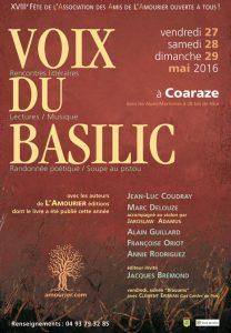Une soirée Brassens ouvrira vendredi 27 mai 2016 les 21e rencontres littéraires de la Voix du Basilic (DR).