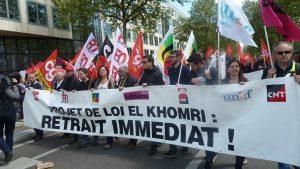 Après sep manifestations, deux journée de mobilisation sont annoncées pour les 12 et 19 mai (© Pierre Nouvelle).