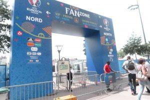 A décines dans le nouveau parc Ol-Land comme sur la Fan-zone au coeur de Lyon, on a fait le plein de supporters (© Pierre Nouvelle).