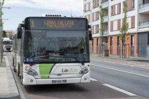 Avec le réseau Libellule à Villefranche-sur-Saône, le Sytral boucle son autorité sur tous les transports urbains et interurbains du département (© DR/Sytral).