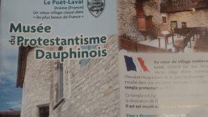La Drôme, terre protestante depuis le 16e siècle, renoue avec sa mémoire et son histoire. Le Musée du protestantisme dauphinois en témoigne (© Pierre Nouvelle).