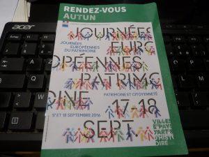 Entre Bourgogne vineuse et Morva, les propositions de découverte du patrimoine ne manquaient pas les 17 et 18 septembre 2016 (© Pierre Nouvelle).