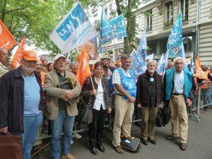 Les syndicalistes satisfaits d'avoir été reçus et écoutés par le préfet de région (© Pierre Nouvelle).