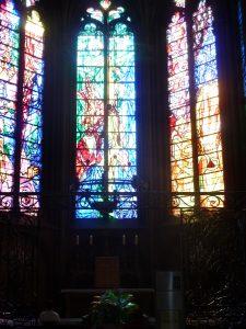 A Metz, la cathédrale, qui domine les vieux quartiers, est le phare architectural de cette cité lorraine (© Pierre Nouvelle.