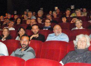 Audience croissante pour le 2e festival oecuménique de cinéma L'Etoile du Pilat (© Pierre Nouvelle).