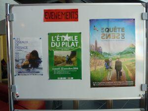 Plus de 200 personnes, enfants, jeunes et adultes, ont participé à la 2e édition de L'Etoile du Pilat, le 2e festival oecuménique de cinéma de Pélussin (© Pierre Nouvelle).