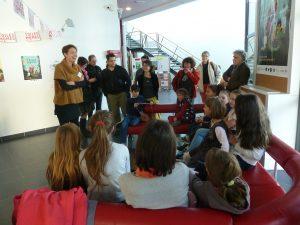 Les enfants ont partégé leurs impressions après la projection du film Les Oiseaux de passage, un film qui était aussi inscrit au programme du festival Les Toiles des mômes (© Pierre Nouvelle).