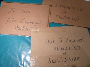Dans cette commune de 3 500 habitants, la volonté d'accueillir des étrangers est bien présente au sein de la population condriote (© Pierre Nouvelle).