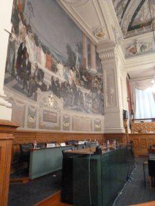 Séance publique cinq à six fois par an pour le Conseil départemental du Rhône (© Pierre Nouvelle).