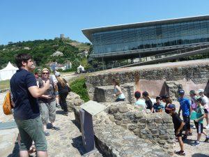 Le musée gallo-romain de St Romain-en-Gal fêtera ses vint ans le 22 octobre prochain (© Pierre Nouvelle).