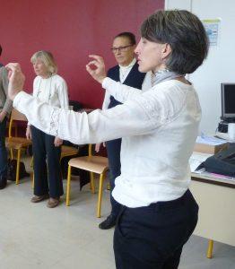 La formation des chantres, des animateurs d'assemblée et de chef-fe-s de chœur va de pair (© Pierre Nouvelle).
