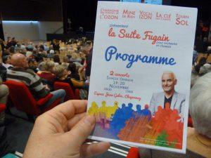 Présentée les 19 et 20 novembre 2016 à Chaponnay (Rhône) après deux années de répétition, la Suite Fugain sera interprétée à nouveau les 28 et 29 janvier 2017 à Irigny (Rhône). Demandez le programme (© Pierre Nouvelle) !