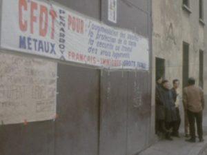 Durant les années 70, la lutte des travailleurs maghrébins de Pennaroya a marqué les luttes sociales des années 70 à Lyon et en France (© DE/Ina)