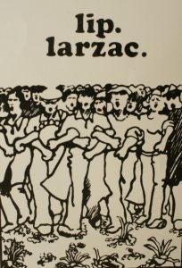 Les luttes de Lip et du Larzac ont convergé en 1973, mobilisant des centaines de milliers de personnes (© DR).
