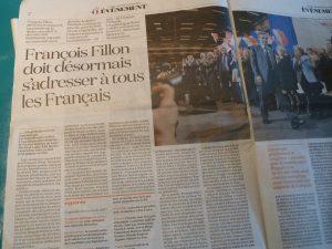 """Les organisations syndicales connaissent bien Franbçois Fillon, ministre sous différents gouvernements, acteur de la """"réforme"""" des retraites en 2002, puis premier ministre sous le quiquennat de Nicolas Sarkozy (© Pierre Nouvelle)."""