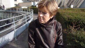 Jacqueline Papat, militante CFDT, participe depuis le début à l'ODI. Elle est aussi une des responsables des Entretiens de l'information avec l'universitaire Jean-Marie Charon (© Pierre Nouvelle).
